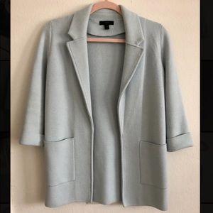 Jcrew Lightweight Sweater-Blazer in Classic Sky